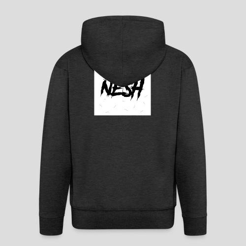 Nesh Logo - Männer Premium Kapuzenjacke