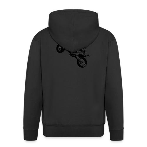 Black Motorbike - Männer Premium Kapuzenjacke