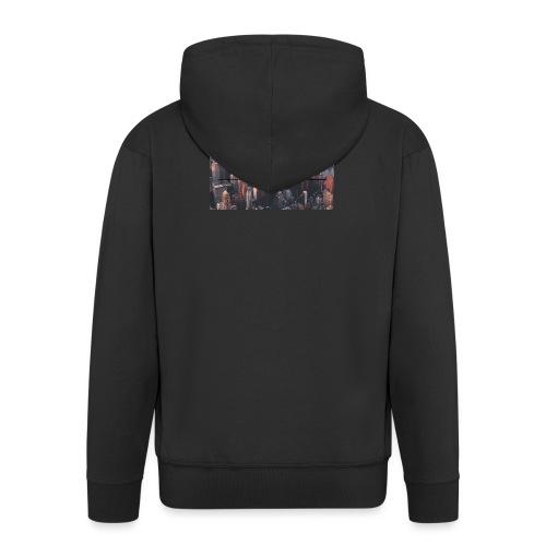 spreadshirt - Veste à capuche Premium Homme