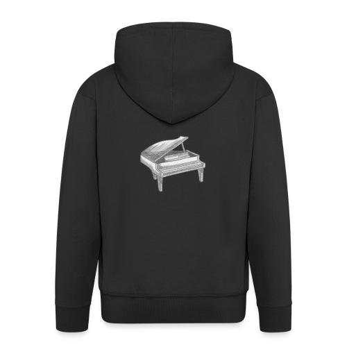 Piano Art - Veste à capuche Premium Homme