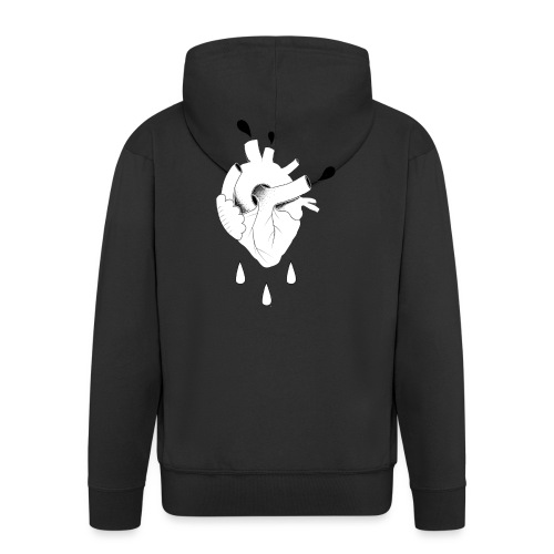 HEART - Men's Premium Hooded Jacket