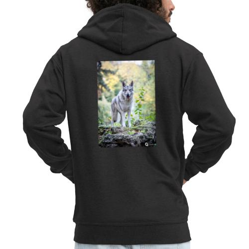 La Tanière des Chiens-Loups - Veste à capuche Premium Homme