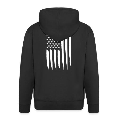 EEUU flag - Chaqueta con capucha premium hombre