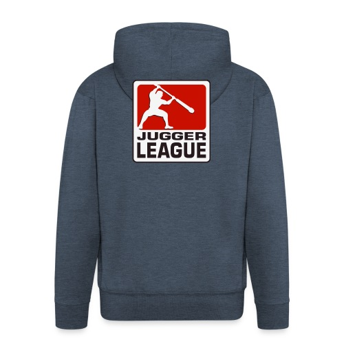 Jugger LigaLogo - Männer Premium Kapuzenjacke
