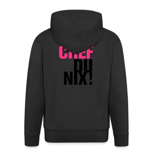 Ich Chef Du nix! Like a Boss Vorgesetzter Leitwolf - Men's Premium Hooded Jacket