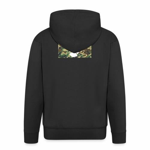 Flying Eagles Army style Pulli -Schwarz - Männer Premium Kapuzenjacke
