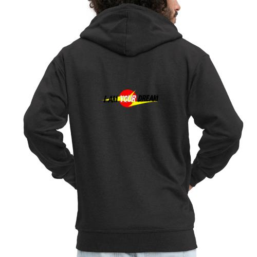 I am in your dream - Men's Premium Hooded Jacket