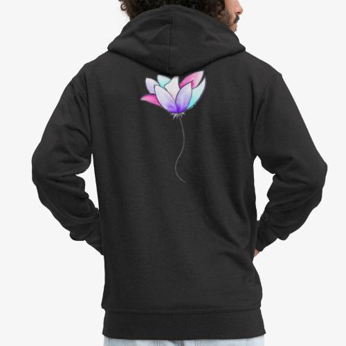 Fleur - Veste à capuche Premium Homme