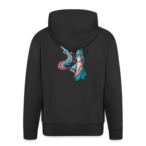 Blue Dragon - Veste à capuche Premium Homme