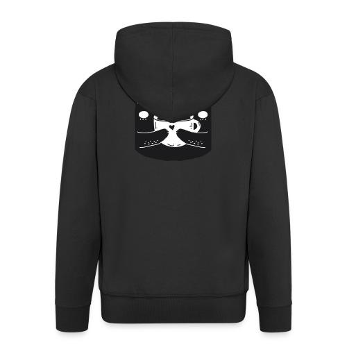BLACK_CAT - Männer Premium Kapuzenjacke
