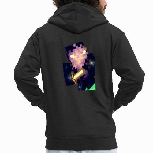 Shaykh Gaming Mineĉraft Skin - Men's Premium Hooded Jacket