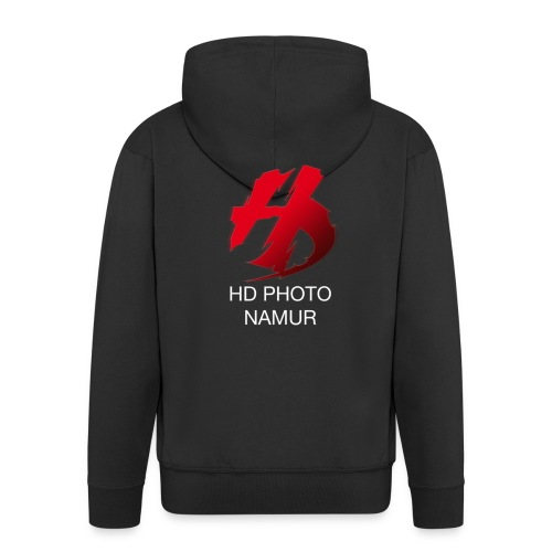 logo hd photo namur - Veste à capuche Premium Homme