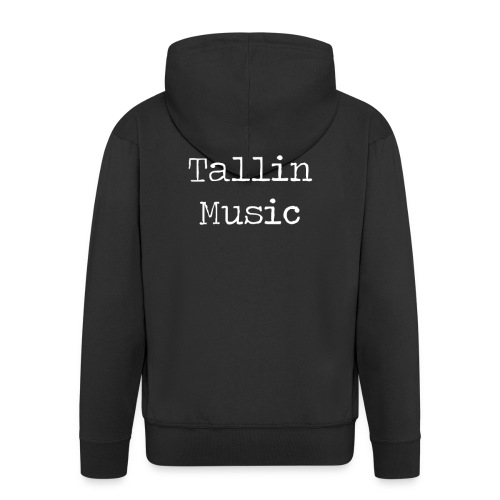 Tallin Music Black Collection 18/19 - Felpa con zip Premium da uomo