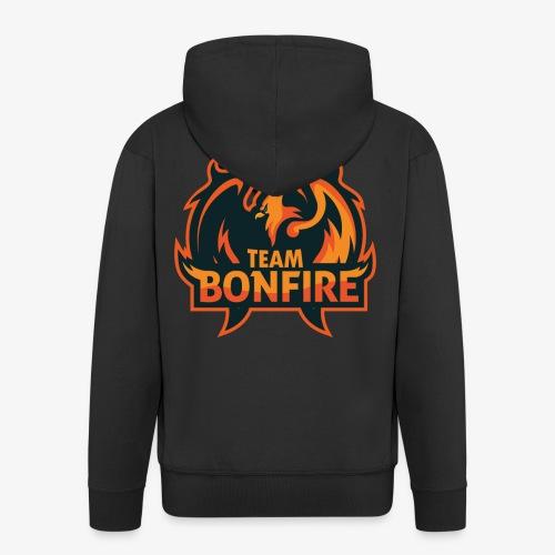 NewTeamBonfire - Männer Premium Kapuzenjacke