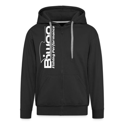 logo biwaa noir sans fond - Veste à capuche Premium Homme