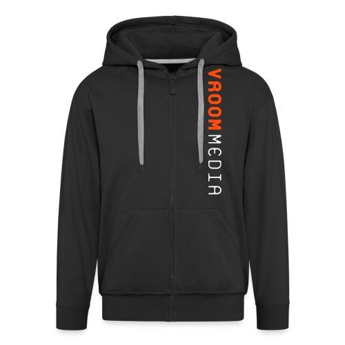 vroom2011b - Men's Premium Hooded Jacket