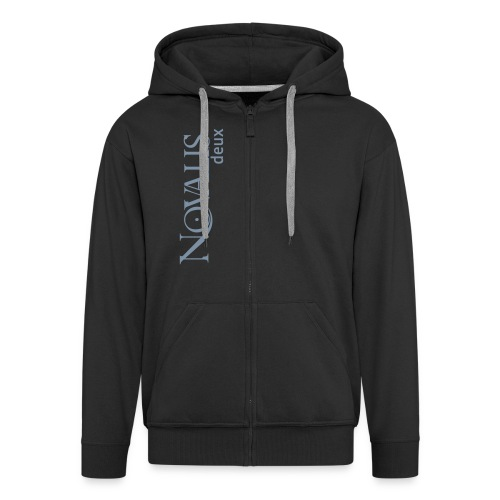 novalisdeux logo spreadshirt - Men's Premium Hooded Jacket