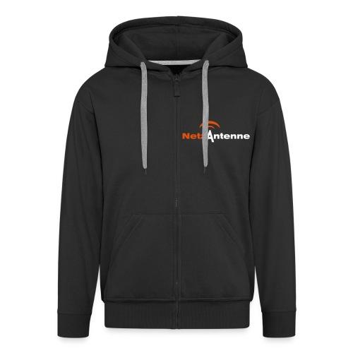 vektorlogo - Männer Premium Kapuzenjacke