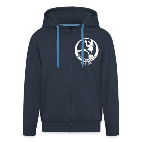 Handballer inside - Männer Premium Kapuzenjacke