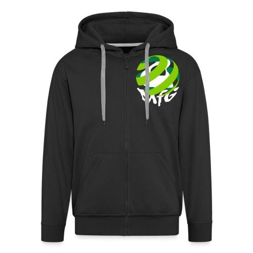 MfG Logo front mit TOXIA - Männer Premium Kapuzenjacke