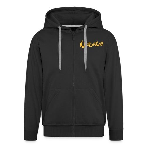 nirwanalogo4 - Mannenjack Premium met capuchon