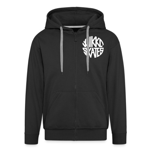 wikkoskates logo vektori - Men's Premium Hooded Jacket