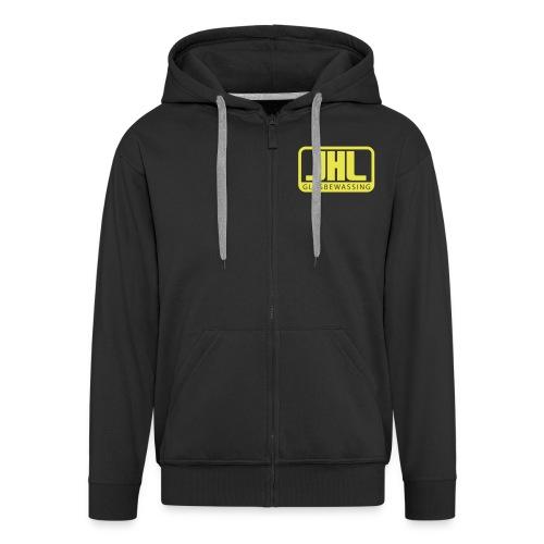 jhl-logo - Mannenjack Premium met capuchon