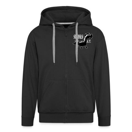 skunk4shirts small2 - Männer Premium Kapuzenjacke