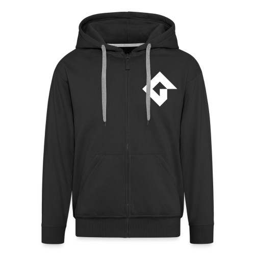 GMS2Logo - Men's Premium Hooded Jacket