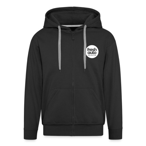 Fresh Auto Crest - Men's Premium Hooded Jacket