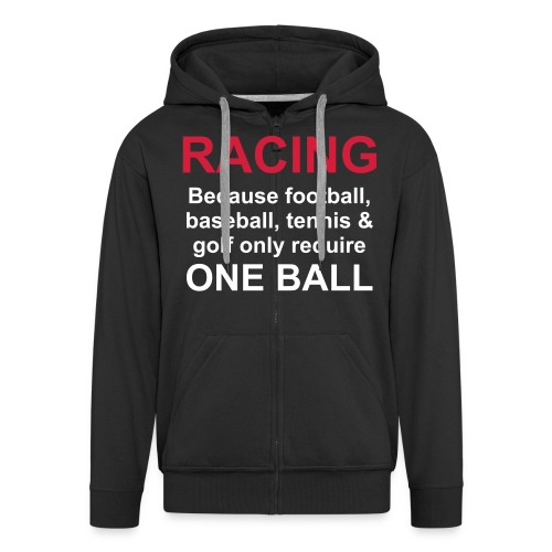 balls_001 - Männer Premium Kapuzenjacke