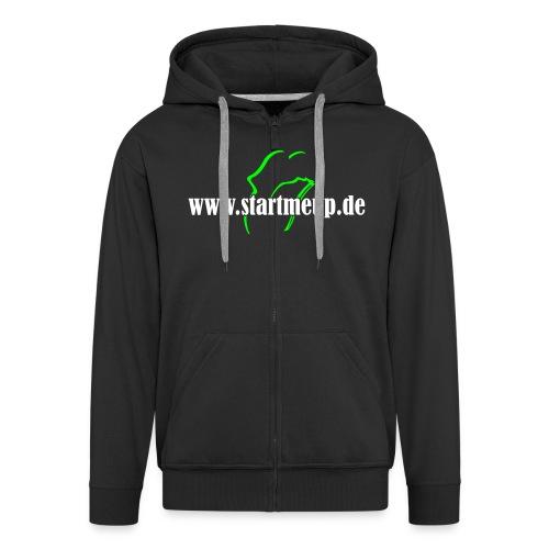 startmeup 02 - Männer Premium Kapuzenjacke