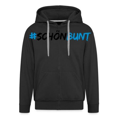 schön bunt - Men's Premium Hooded Jacket