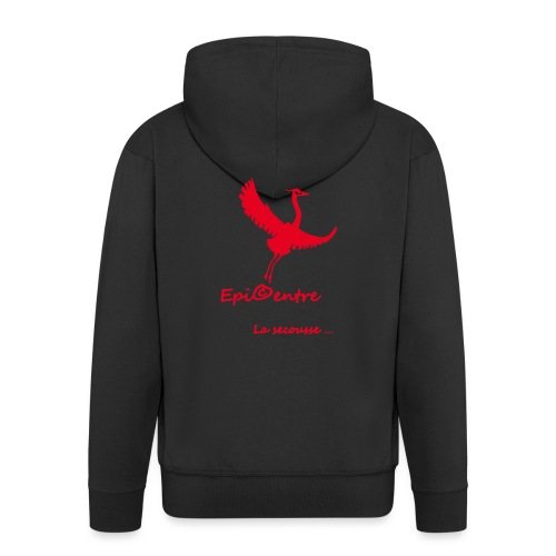 epicentre marque rouge - Veste à capuche Premium Homme