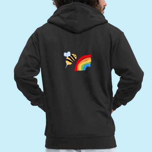 BEe Gay - Veste à capuche Premium Homme