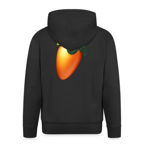 Fruit drops no shadow - Men's Premium Hooded Jacket
