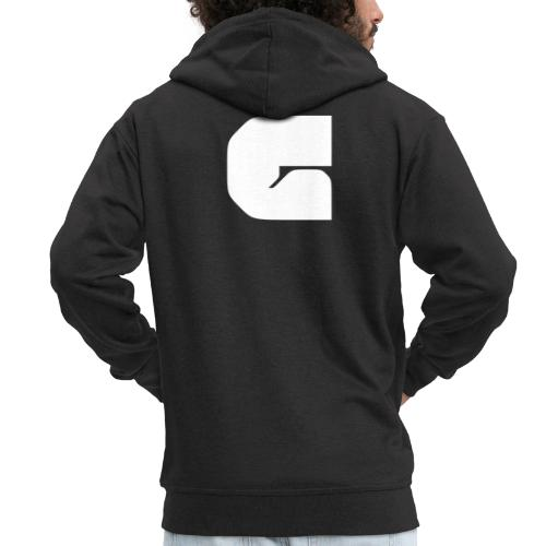 G solid - Men's Premium Hooded Jacket