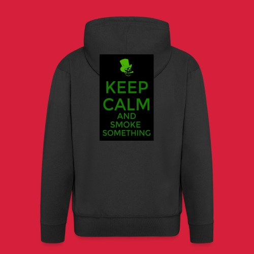 smoke something shirt - Mannenjack Premium met capuchon