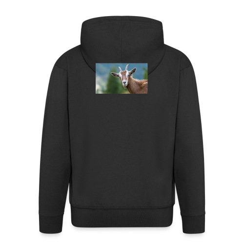 GOAT shirt - Mannenjack Premium met capuchon