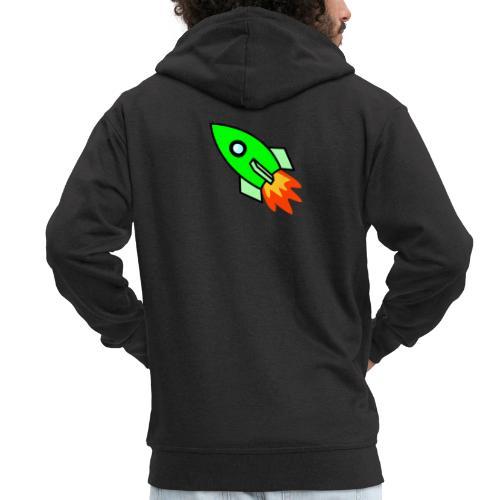 neon green - Men's Premium Hooded Jacket