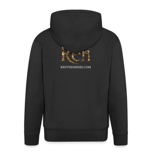 REN MARK UPDATED SEPT16 png - Men's Premium Hooded Jacket