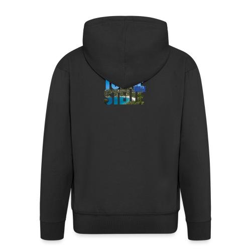 TorreTshirt - Felpa con zip Premium da uomo