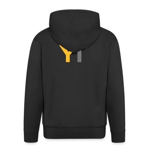 Yogii Tube - Men's Premium Hooded Jacket