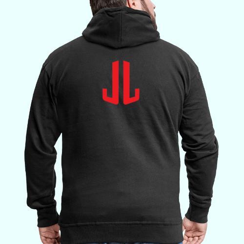 BodyTrainer JL - Miesten premium vetoketjullinen huppari