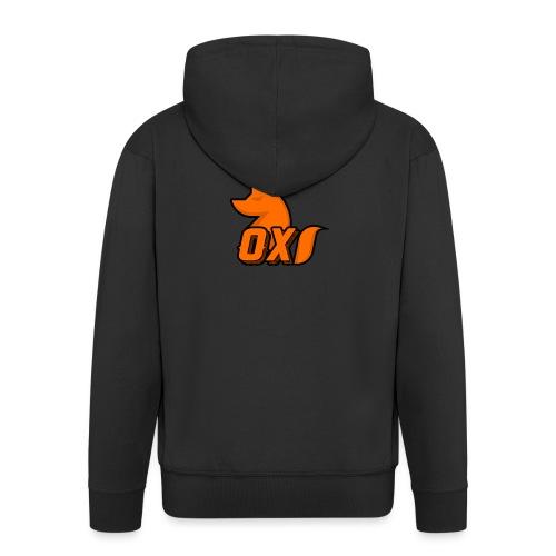 Fox~ Design - Men's Premium Hooded Jacket