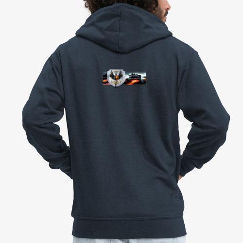 outkastbanner png - Men's Premium Hooded Jacket