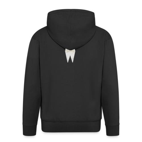 MELWILL white - Men's Premium Hooded Jacket