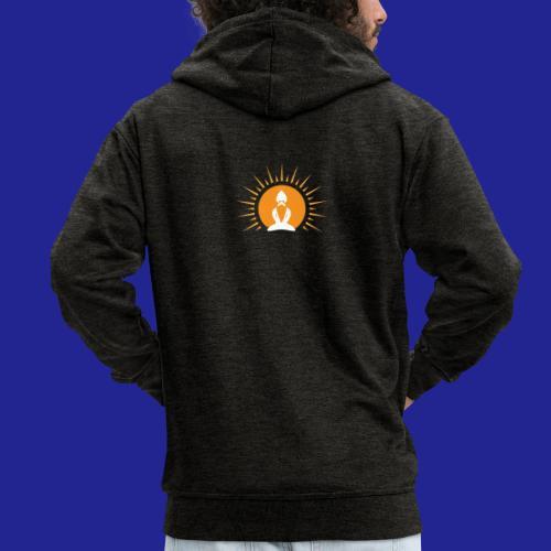 Guramylyfe logo no text - Men's Premium Hooded Jacket