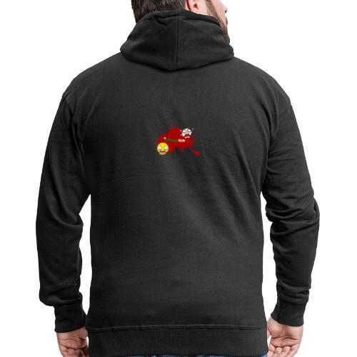FitwayStyle 3 - Chaqueta con capucha premium hombre