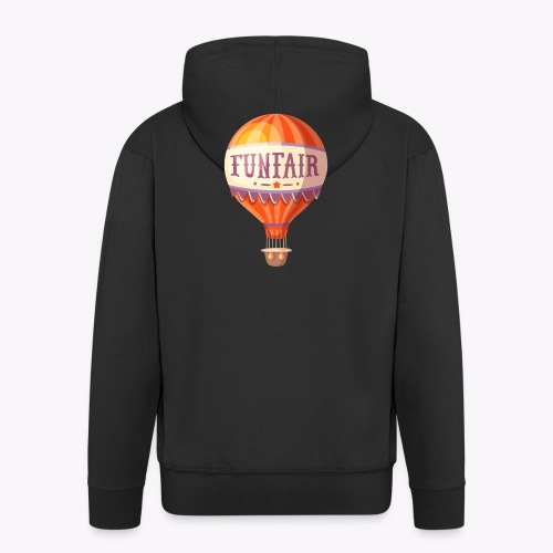 Vintage Balloon - Men's Premium Hooded Jacket
